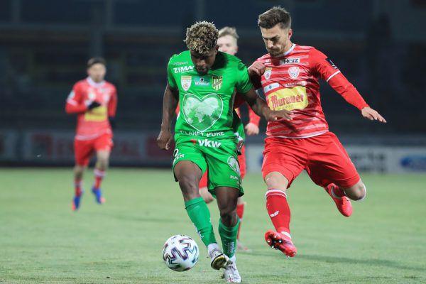 Zuletzt feierte die Austria zwei Siege in Folge. Darunter gegen den Kapfenberger SV. gepa