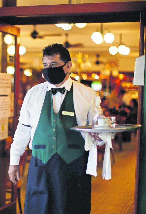2000 Bars, Restaurants und Cafés gingen in Buenos Aires aufgrund von Corona pleite.AP