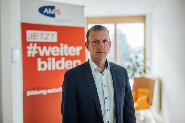 AMS–Chef Bernhard Bereuter.Sams