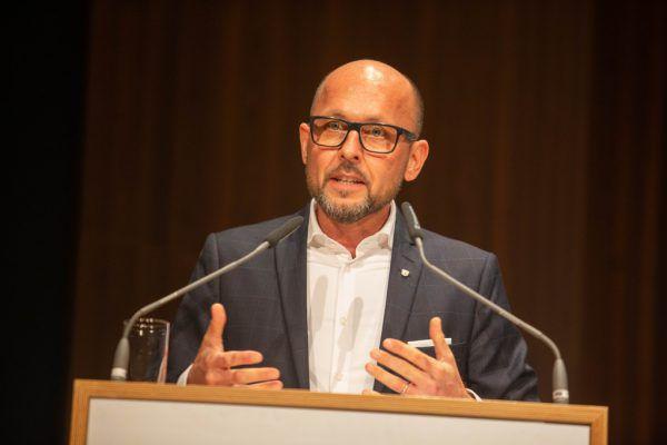 Der Bregenzer Bürgermeister Michael Ritsch.Hartinger
