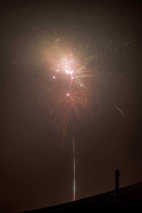 Das Land rät heuer zu reduzierten Feuerwerken. Oliver Lerch