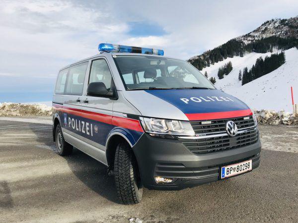 Das neue Einsatzfahrzeug.Landespolizeidirektion