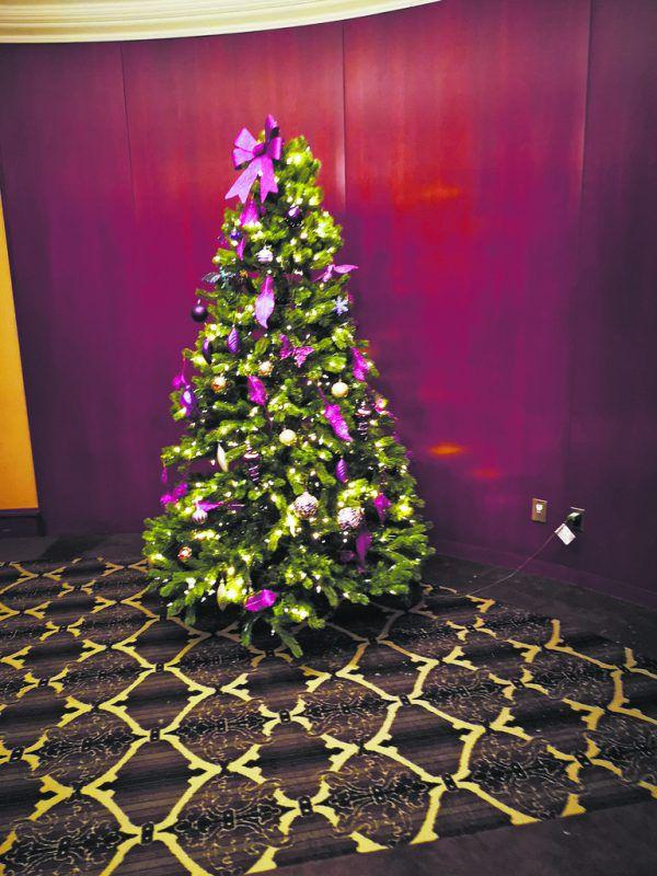Der Christbaum bei uns im Hotel. Anders, aber auch sehr schön.JonasKutzer, ÖEHV