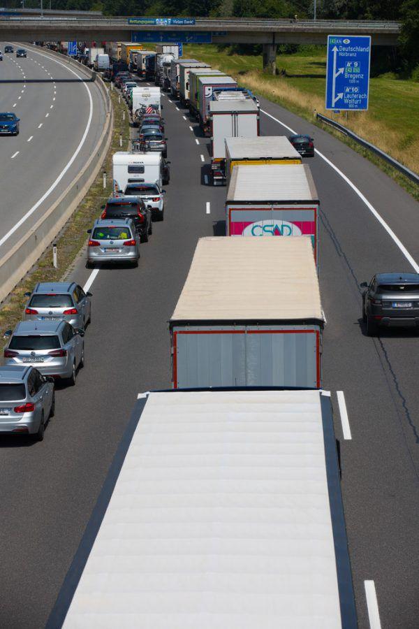 Der Verkehr war für 47 Prozent der Treibhausgas-Emissionen verantwortlich.Hartinger