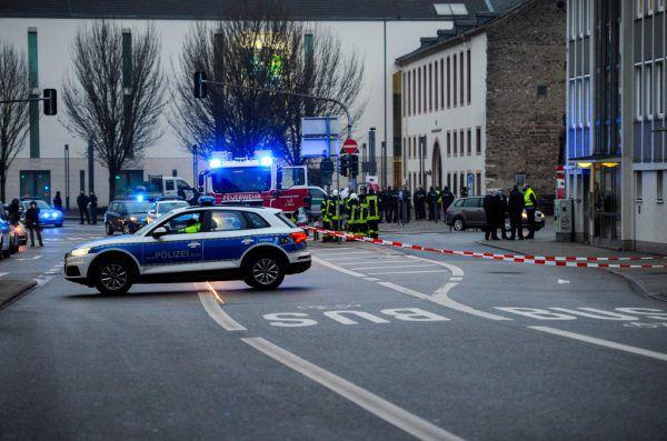 Der Vorfall ereignete sich nahe der Porta Nigra. apf