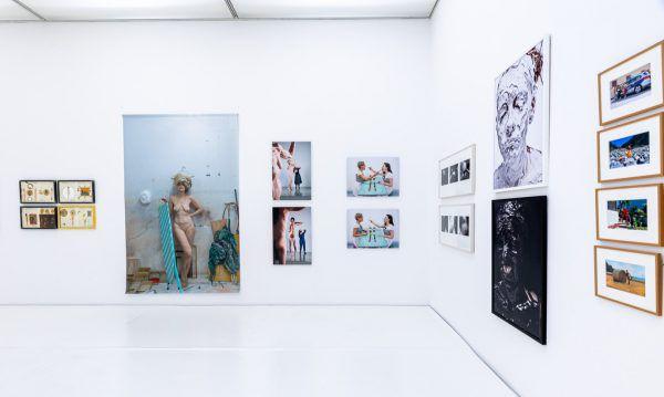 Die Ausstellung der Ankäufe in Bludenz. Die Sammlung wird vom vorarlberg museum verwaltet, gehört aber dem Land.Erhard Sprenger/allerArt