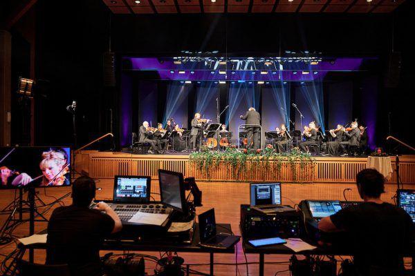 Die Sinfonietta Vorarlberg war online zu erleben.Kuzmanovic