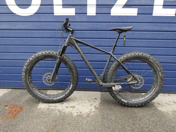 Ein gestohlenes Fahrrad wurde sichergestellt.Polizei
