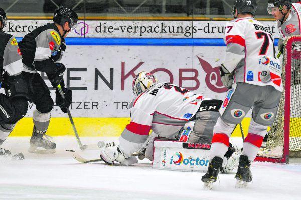 Emil Romig, Dornbirns Torschütze des Monats November, war gegen Bratislava ein Aktivposten, erzielte das 2:1. Lerch