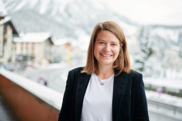 Geschäftsführerin Olivia Strolz.