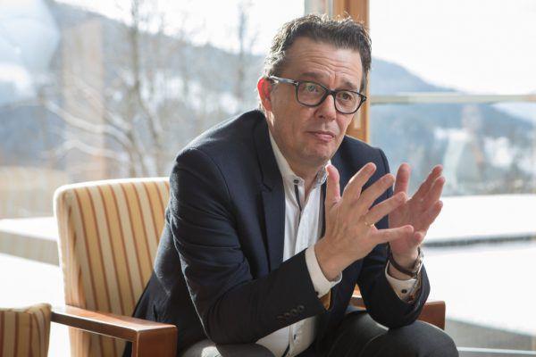 Hans Peter Metzler ist Präsident der Wirtschaftskammer und Hotelier.Hartinger, WKV