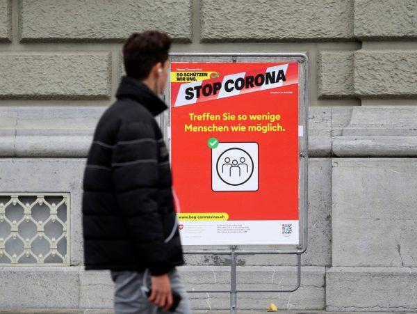 In der Schweiz wurden schärfere Corona-Maßnahmen beschlossen.Reuters