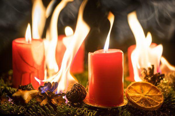 In der Weihnachtszeit steigt auch die Brandgefahr.Shutterstock, Brandverhütungsstelle