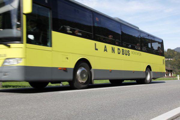 Landbus im Corona-Modus. Meznar
