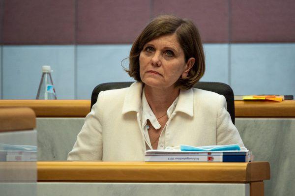 Barbara Schöbi-Fink kontert Kritik der Opposition.Lerch