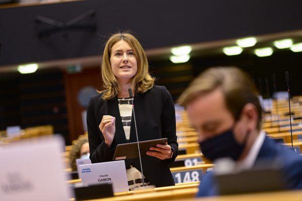Seit 2019 ist Claudia Gamon Mitglied im Europäischen Parlament.EP/Laurie Dieffembacq, Screenshot, Hartinger