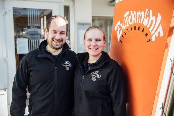 Thomas Sparr und Saskia Hermann führen die Zwickmühle seit 2018. Sams (3)