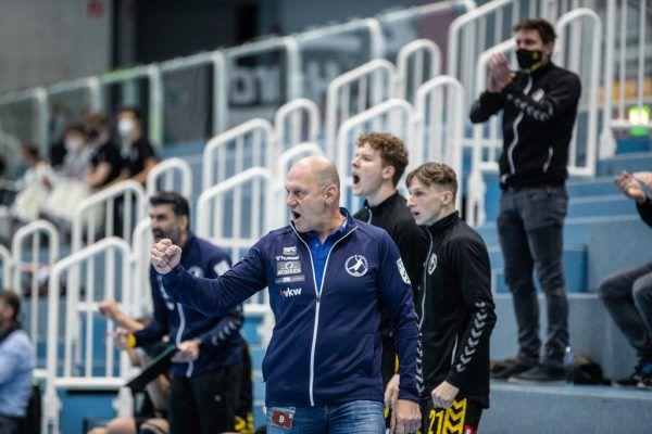 Zuletzt jubelten Markus Burger und seine Mannen im Dreby gegen Hard.sams