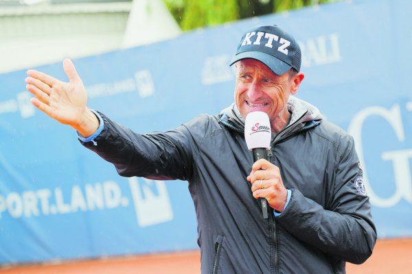Alexander Antonitsch ist Turnierdirektor in Kitzbühel, erreichte 1990 in Wimbledon das Achtelfinale und spielte jahrelang für Österreich im Davis Cup. GEPA