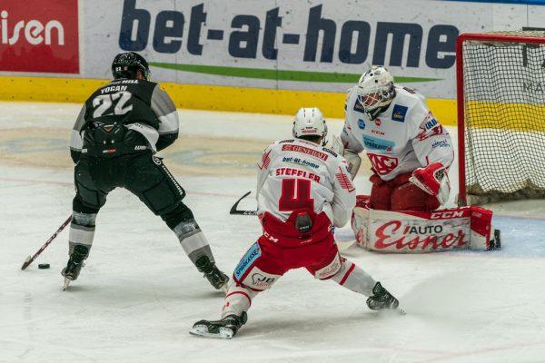 Beim 3:1-Heimsieg gegen den KAC boten die Dornbirner eine beeindruckende Leistung.Dietmar Stiplvosek