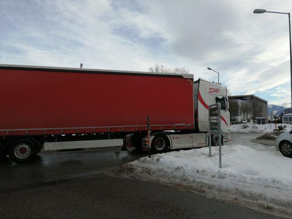 Bis zu 650 Lkw rollen täglich durch Frastanz.Marktgemeinde Frastanz