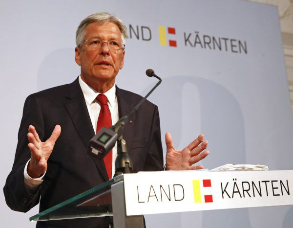 Der Kärntner LandeshauptmannPeter Kaiser.APA