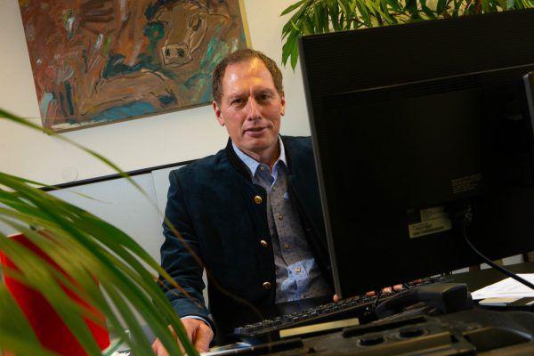 Der Präsident der Vorarlberger und der österreichischen Landwirtschaftskammer, der Dornbirner Josef Moosbrugger.Klaus Hartinger