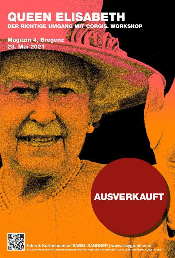 Der Queen-Event ist leider ausverkauft.Isabel Sandner