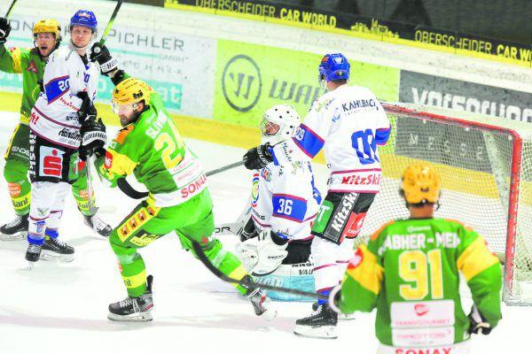 Die Lustenauer konnten gestern über sieben Tore jubeln.Klaus Hartinger