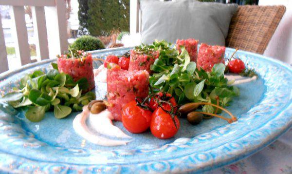 Ein wunderbares Gericht aus frischem Rinderfilet.Ulrike Hagen