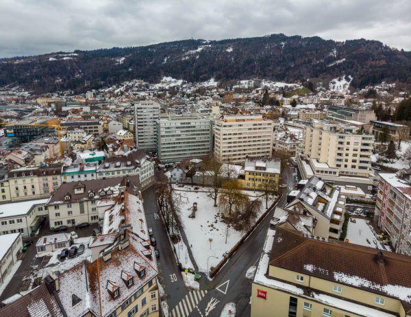 Das Weiherviertel in Bregenz wird neu geplant. Hartinger