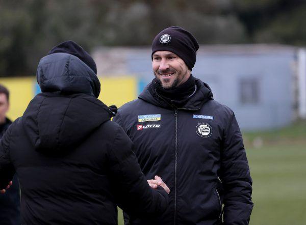 Frühjahrsstart für Sturm Graz und Trainer Christian Ilzer. GEPA