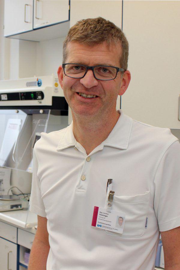 Günther Graninger, Leiter der Krankenhausapotheke Feldkirch.KHBG