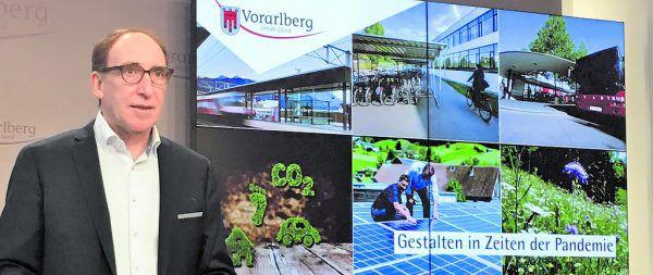 Landesrat Johannes Rauch präsentierte sein Arbeitsprogramm für 2021.VLK