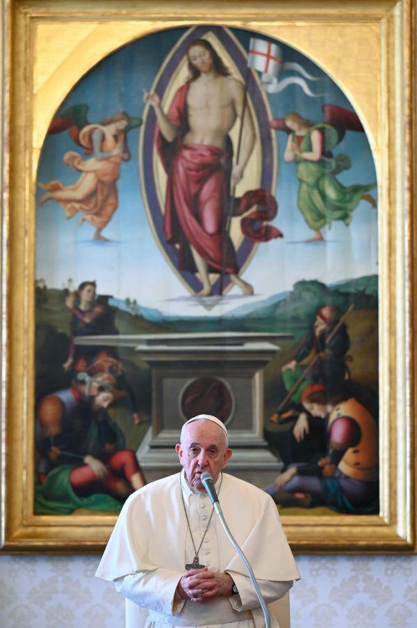"""""""Man muss das machen"""": Papst Franziskus.AFP"""