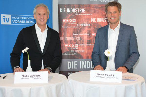 Martin Ohneberg und Markus Comploj begrüßen die Impfungen. IV
