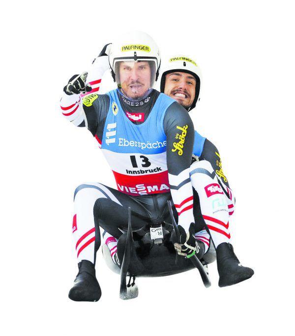 Nach schwerer Verletztung meldeten sich Thomas Steu (vorne) und Lorenz Koller eindrucksvoll zurück.AP (3)
