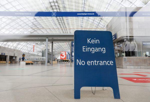 Nachdem die Leipziger Buchmesse im Vorjahr abgesagt werden musste, soll diese heuer im Mai über die Bühne gehen. APA/dpa/Jan Woitas