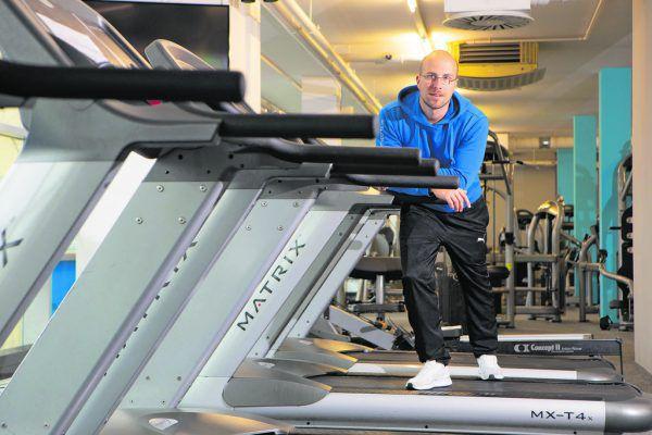 """Seit 2014 ist Mark Liebl bereits Inhaber und Geschäftsführer des Dornbirner Fitnessstudios """"Good Life Sports"""".Hartinger"""