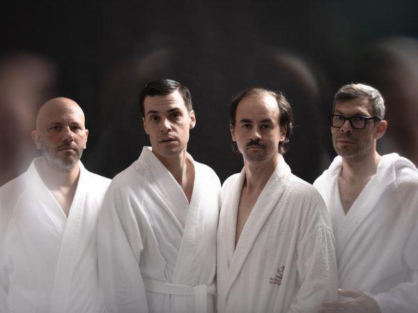 V.l.: Helmuth Brossmann, Klaus Mitter, Franz Wenzl und Martin Max Offenhuber.Ingo Petramer