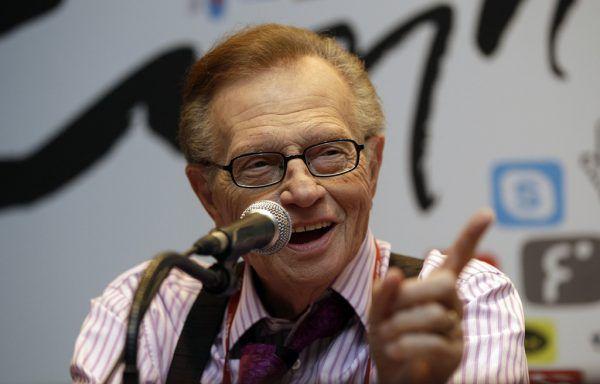 Wurde 87 Jahre alt: US-Talkmaster Larry King. AP