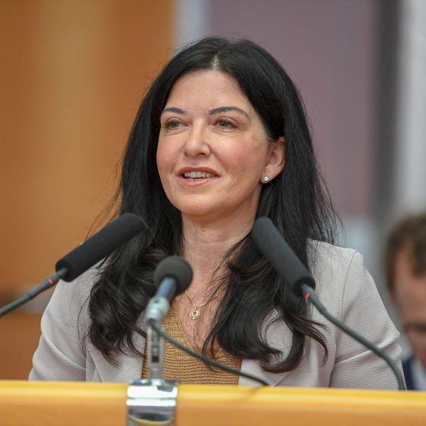 AK-Vize und Landtagsabgeordnete Manuela Auer (SP).lerch