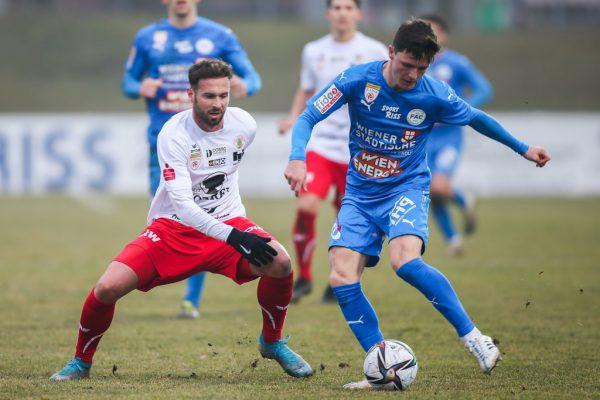 """Am Wochenende feierten die """"Rothosen"""" zum Frühjahrsauftakt einen 1:0-Erfolg über den FAC. gepa"""