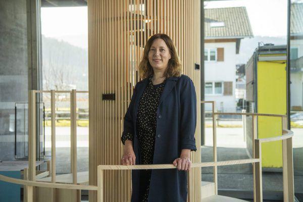 Belinda Rukschcio in der neuen Ausstellung im Werkraumhaus.Roland Paulitsch (2)