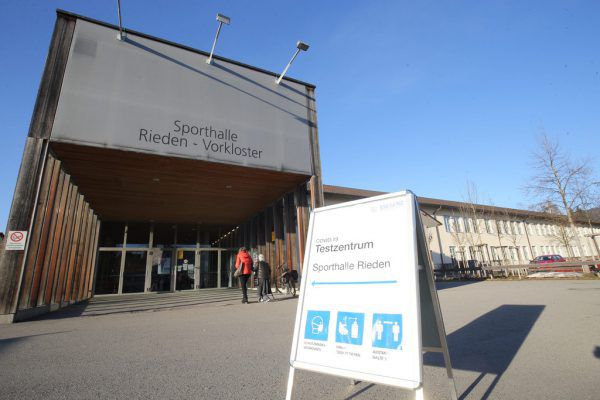 corona testzentrum bregenz riedsen