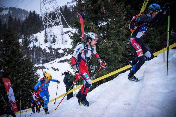 Daniel Zugg eroberte beim Sprint-Rennen in Flaine die Silbermedaille. maurizio torri