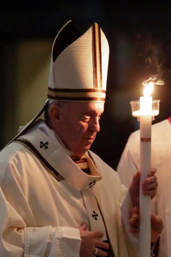 Dem Papst zufolge hat die Fastenzeit in Zeiten der Pandemie besonderen Stellenwert. AFP/POOL