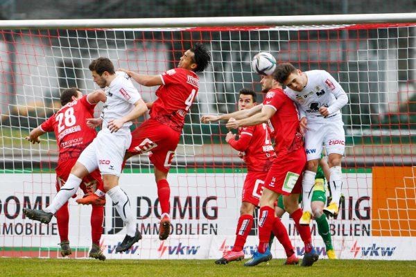 Der FC Dornbirn entfachte gestern zu wenig Gefahr im Offensivspiel. GEPA/ Lerch