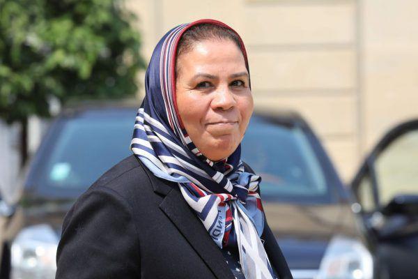 Die Aktivistin Latifa Ibn Ziaten wurde geehrt.AFP