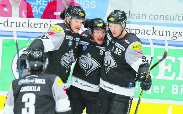 Die Dornbirner wollen den vierten Sieg gegen Linz bejubeln.Klaus Hartinger